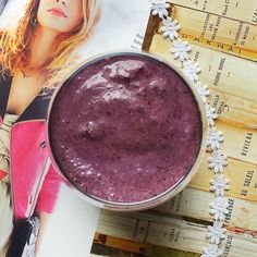 Vegan Smoothie Recipes: Anti-Inflammatory Blueberry Protein Smoothie | Peaceful Dumpling
