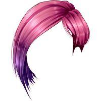 Короткая асимметричная стрижка, розовый цвет волос