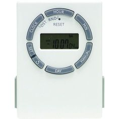 Ge Sunsmart Grounded 7-day Digital Timer With Random On And Off & 2 Outlets