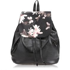 Women Small Fashion Student School Bag Synthetic Leather Schoolbag Backpack Travel Bag
