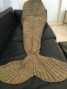 Knitting Pattern Fishtail Blanket : 1000+ images about FISHTAIL BLANKET on Pinterest Mermaid tails, Knitting bl...