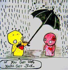 Cute Emo Love Cartoons   Emo Cartoons Comics by KatrinaaKitty