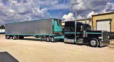Peterbilt custom 389 with matchin reefer Peterbilt 389, Peterbilt Trucks, Show Trucks, Big Rig Trucks, Custom Big Rigs, Custom Trucks, Trailers, Rv Truck, Diesel Trucks