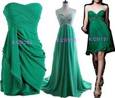 2015 green prom dresses uk