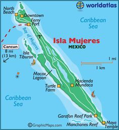 Isla Mujeres...hmmmmmm..maybe if I pin this he will get the hint!!,,,