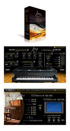 Synhology - Ivory II Grand Pianos, Italian Grand & Upright Pianos.