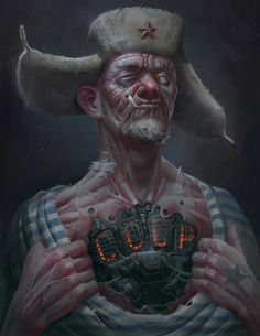 Art by Eduard Nabiullin Cyberpunk Kunst, Cyberpunk City, Cyberpunk Fashion, Character Concept, Character Art, Concept Art, Steampunk, Space Opera, Cyberpunk Character
