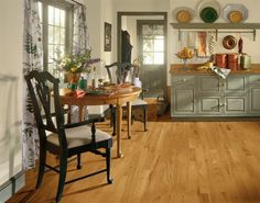 Smokey Topaz Hickory Hardwood Floors by Armstrong