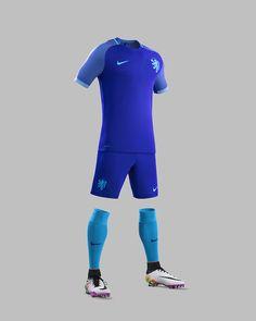 Holanda 2016 Nike Away