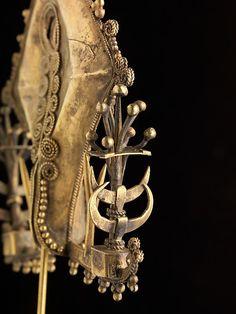 Ear Ornament or Pendant (Mamuli) Date: 19th century Geography: Indonesia, Sumba Island, East Nusa Tenggara Culture: Sumba Island