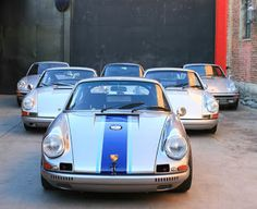 part of Magnus Walker's collection
