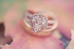 rose gold wedding ring. Never thought id like this shape but its beautiful!