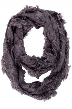 For the glam girl: Selena Fringe Infinity Scarf