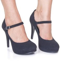 Amazon.com: Tie Round Toe Dress Pump Mary-Jane Strap Women Size Shoe NEW: Shoes