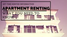 What You Need 2 Know When Renting 4 The 1st Time | eChanning