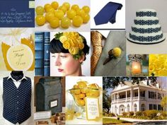 50 Best My Wedding Navy Amp Yellow Images In 2013