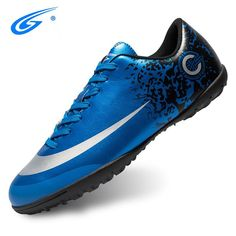 ZHENZU Professional Men Women Indoor Soccer Shoes Trainer Football Boots TF  Turf Soles Sneakers Adult Sport 0be644d6c