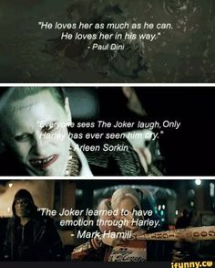 ❤️Harley Quinn and The Joker❤️