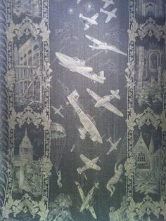 Battle of Britain lace panel - WWII  see Australian War Memorial site http://www.awm.gov.au/collection/RELAWM32146/