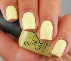 Collection Nails opi OPI Retro Summer Collection 2016 … - All For Hair Color Trending Trendy Nails, Cute Nails, Nails Opi, Yellow Nail Art, Yellow Nail Polish, Bright Summer Nails, Summer Nail Polish Colors, Summer Colors, Vacation Nails