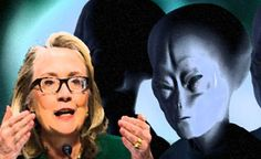 Hillary Clinton promises to reveal the truth about UFOs and Extraterrestrials if elected President !!