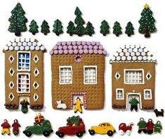 Piparkakkutalot teko-ohje - Piparkakkumökki - Piparitalo Advent Calendar, Holiday Decor, Home Decor, Decoration Home, Room Decor, Advent Calenders, Home Interior Design, Home Decoration, Interior Design