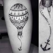 Resultado de imagem para tattoo aquarela de balão