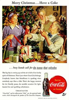 Merry Christmas...Have a Coke, because that's all you're getting.