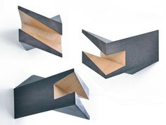 Iceberg, wood bike hanger par Woodstick - Journal du Design