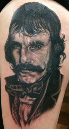 Bill the Butcher tattoo by Suzanna Fisher