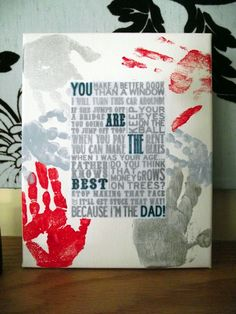 The Bird's Papaya: Our Father's Day craft!