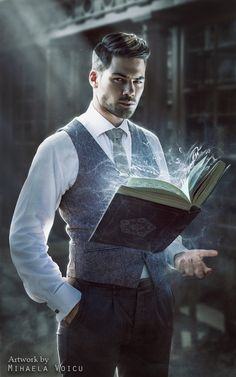 The Rules of Magic by Mihaela-V - Shadowrun - Erwachte - Art Fantasy World, Dark Fantasy, Fantasy Art, Dnd Characters, Fantasy Characters, Fictional Characters, Fantasy Inspiration, Character Inspiration, Character Concept