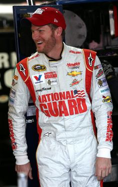 Dale Jr. ;)  This is our year I just have that kind of feeling