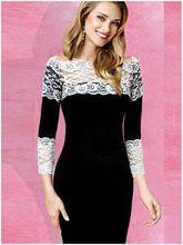 elbise vestidos rahat yazlık elbise 2015 kadın seksi club ince siyah dantel paketi kalça parti elbise kadınlar için elbiseler ropa mujer(China (Mainland))
