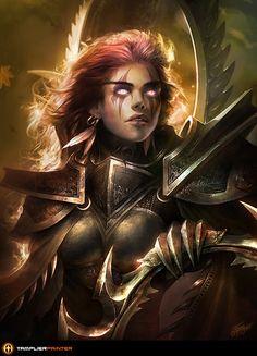 Fankunst - Media - World of Warcraft - Maiev Shadowsong