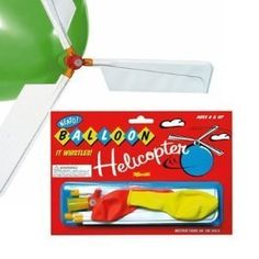 Toysmith Whistle Balloon Helicopter: http://www.amazon.com/Toysmith-6053-Whistle-Balloon-Helicopter/dp/B000CIO58I/?tag=headisstrandh-20