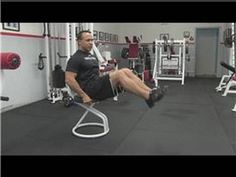 Fitness Tips : Chair Exercise for the Abdominals - YouTube