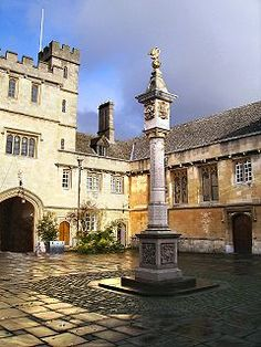 Corpus Christi College, Oxford. My home in 1992.