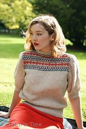 Ravelry: Fair Isle Yoke pattern by Susan Crawford