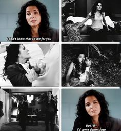 I'd come damn close ~ Rizzoli and Isles