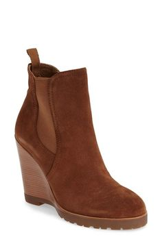 MICHAEL Michael Kors 'Thea' Wedge Bootie (Women) available at #Nordstrom