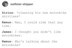 Remus Lupin Sirius black wolfstar <-- followed by copious amounts of teasing and giggling and kissing