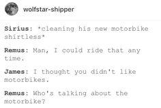 Remus Lupin Sirius black wolfstar