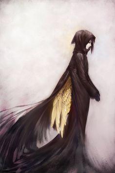 Elle paraissait un démons, elle cachait juste ses ailes doré comme son coeur...