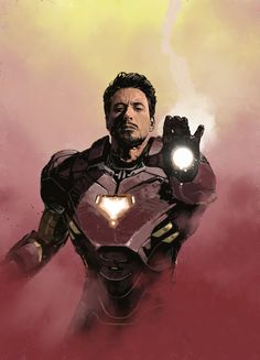 Tony Stark - Iron Man by Dave Seguin *