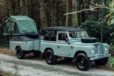 The 1982 Land Rover Series 3 ($Inquire) you see here is hands-down the ultimate adventure vehicle. It is fully equipped with everything you need to exp...