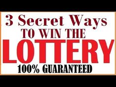 3 Secret Ways to win the Lottery that Nobody will tell you Picking Lottery Numbers, Lucky Numbers For Lottery, Lotto Winning Numbers, Lotto Numbers, Lottery Winner, Winning The Lottery, Lotto Winners, Pick 3 Lottery, Lotto Lottery