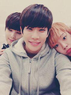 Eunwoo, MJ and SanHa