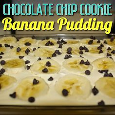 EmilyCanBake: Chocolate Chip Cookie Banana Pudding