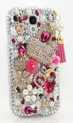 Fashion Purse with Tassle Design bling case for Samsung Galaxy Note 3/ 4/ 5 Samsung Galaxy S3/ S4/ S5 iPhone 6/ 6s Plus Nokia lumia 520/ 1020 and other phone device http://luxaddiction.com/collections/3d-designs/products/fashion-purse-with-tassle-design-style-762